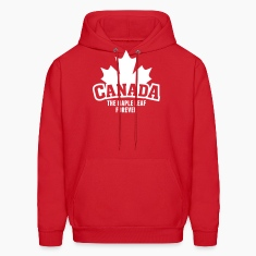 CANADA, THE MAPLE LEAF FOREVER Hoodies