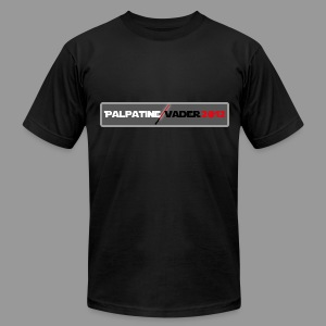 Palpatine Vader 2012 v2 - Men's T-Shirt by American Apparel