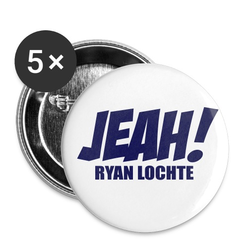 JEAH! - Buttons large 2.2'' (5-pack)