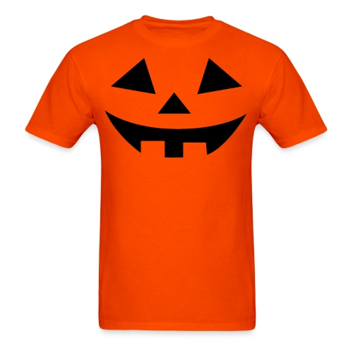Men's t-shirt * Jack-o'-lantern (pumpkin face 2) - Men's T-Shirt