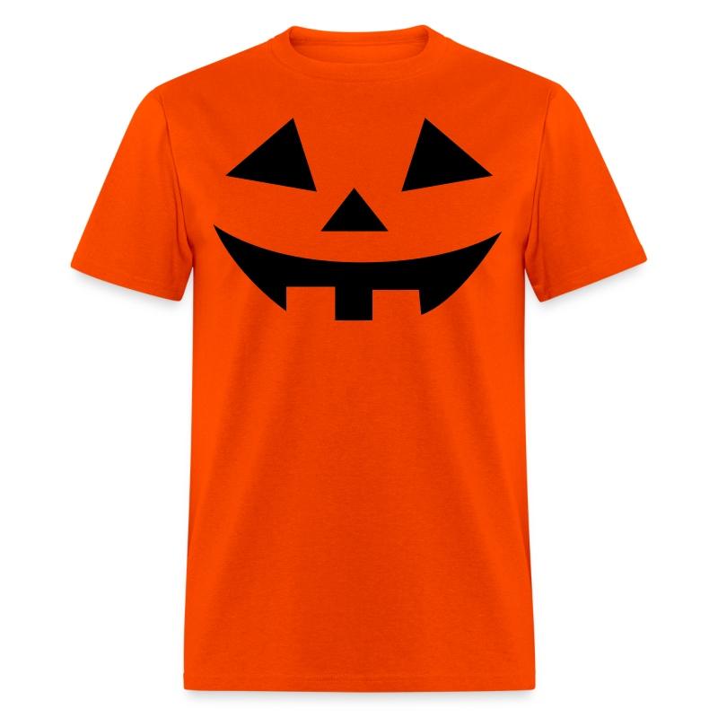 Men's t-shirt * Jack-o'-lantern (pumpkin face 2) - Men's T-Shirt