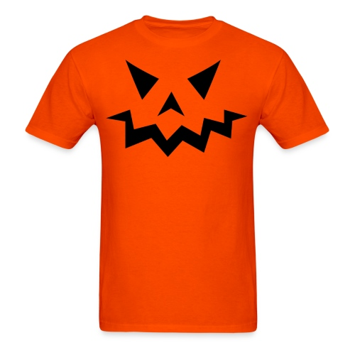 Men's t-shirt * Jack-o'-lantern (pumpkin face 1) - Men's T-Shirt