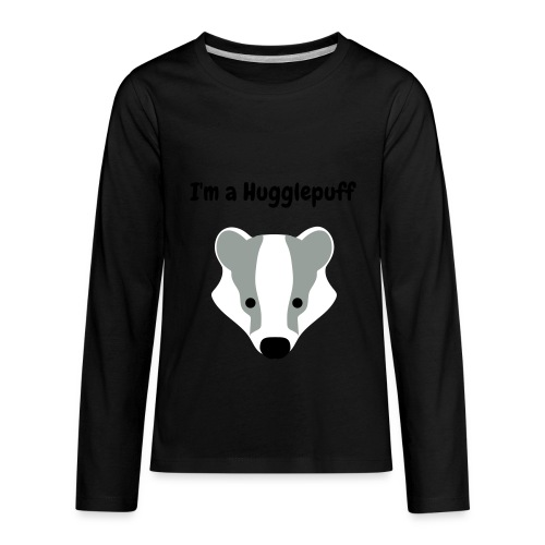 Hugglepuff | Kids - Kids' Premium Long Sleeve T-Shirt