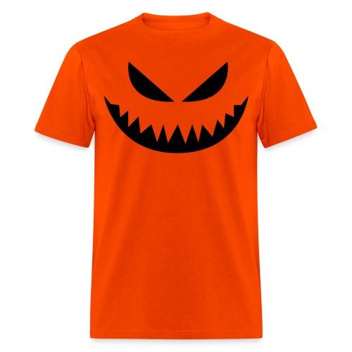 Men's t-shirt * Jack-o'-lantern (pumpkin face 4) - Men's T-Shirt