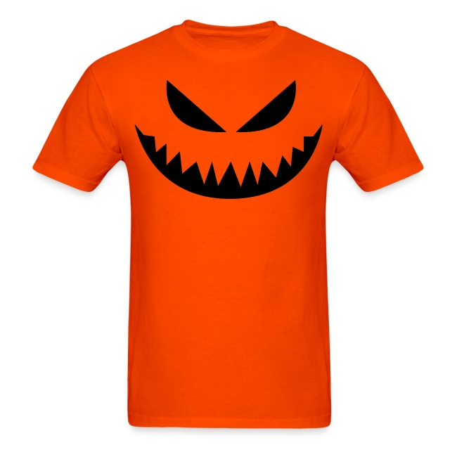 Men's t-shirt * Jack-o'-lantern (pumpkin face 4)
