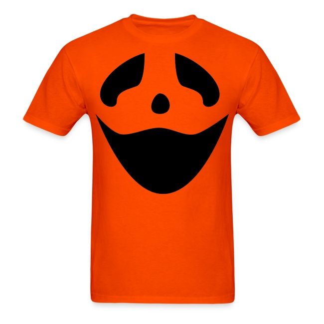 Men's t-shirt * Jack-o'-lantern (pumpkin face 3)
