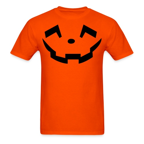 Men's t-shirt * Jack-o'-lantern (pumpkin face 5) - Men's T-Shirt