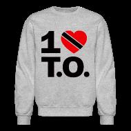Long Sleeve Shirts ~ Crewneck Sweatshirt ~ 1 ♥ Trinidad T.O. Crewneck