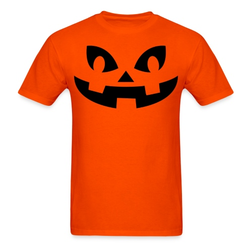 Men's t-shirt * Jack-o'-lantern (pumpkin face 8) - Men's T-Shirt