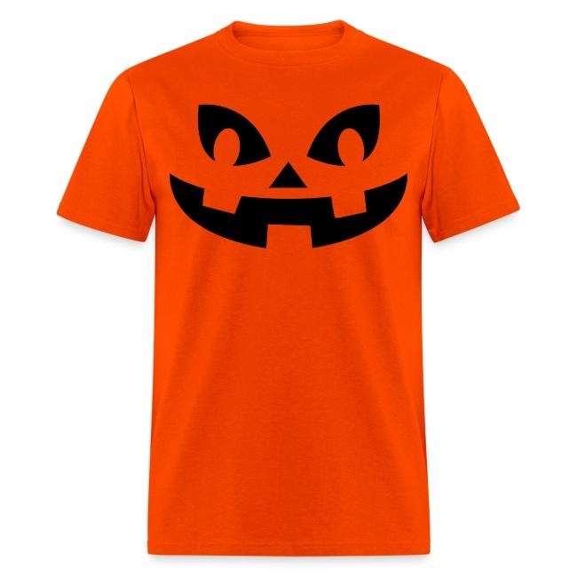 Men's t-shirt * Jack-o'-lantern (pumpkin face 8)