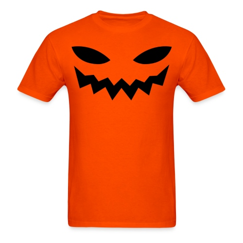 Men's t-shirt * Jack-o'-lantern (pumpkin face 9) - Men's T-Shirt