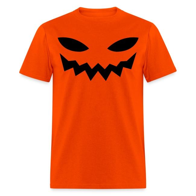 Men's t-shirt * Jack-o'-lantern (pumpkin face 9)