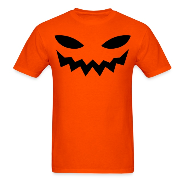 Men's t-shirt * Jack-o'-lantern (pumpkin face 9)