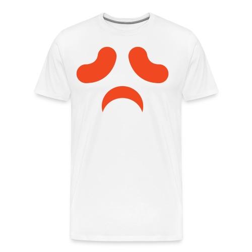 Men's premium t-shirt * Jack-o'-lantern (pumpkin face 3) - Men's Premium T-Shirt