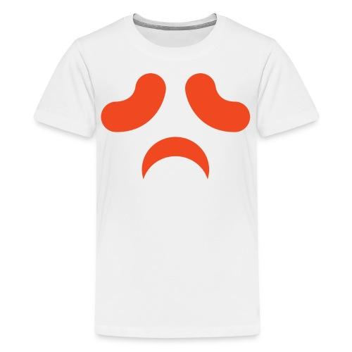 Kids premium t-shirt * Jack-o'-lantern (pumpkin face 13) (white) - Kids' Premium T-Shirt