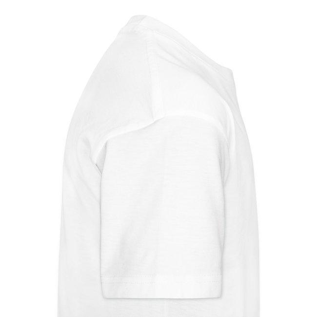 Kids premium t-shirt * Jack-o'-lantern (pumpkin face 13) (white)