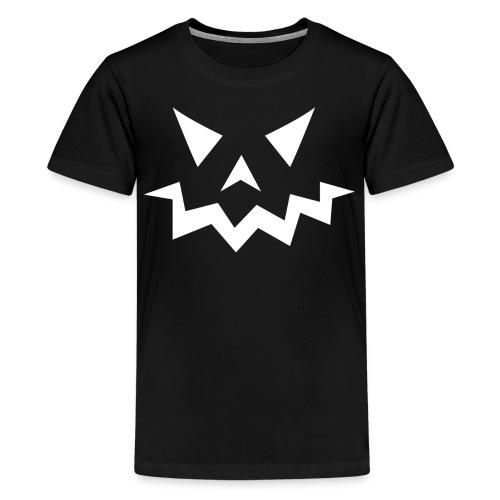 Kids premium t-shirt * Jack-o'-lantern (pumpkin face 1) - Kids' Premium T-Shirt