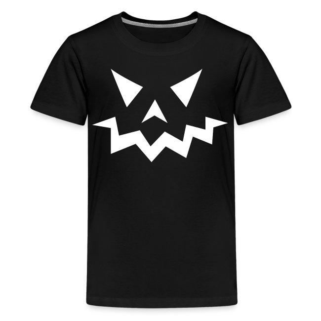 Kids premium t-shirt * Jack-o'-lantern (pumpkin face 1)
