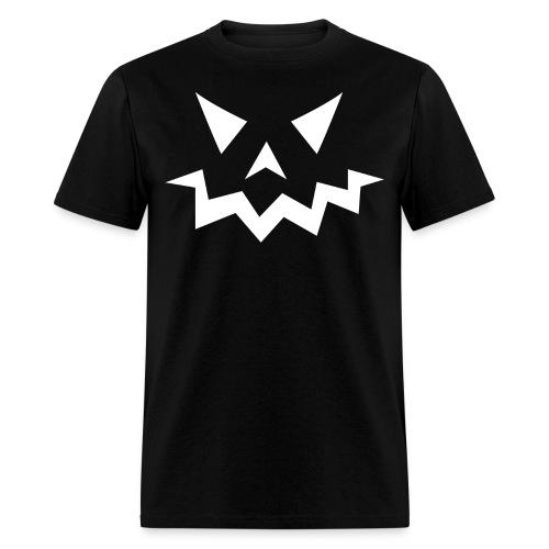 Men's t-shirt * Jack-o'-lantern (pumpkin face 1) (black) - Men's T-Shirt