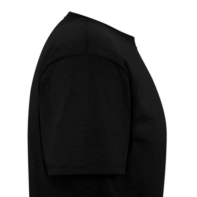 Men's t-shirt * Jack-o'-lantern (pumpkin face 1) (black)