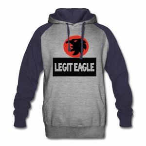 Legit eagle hoodie - Colorblock Hoodie