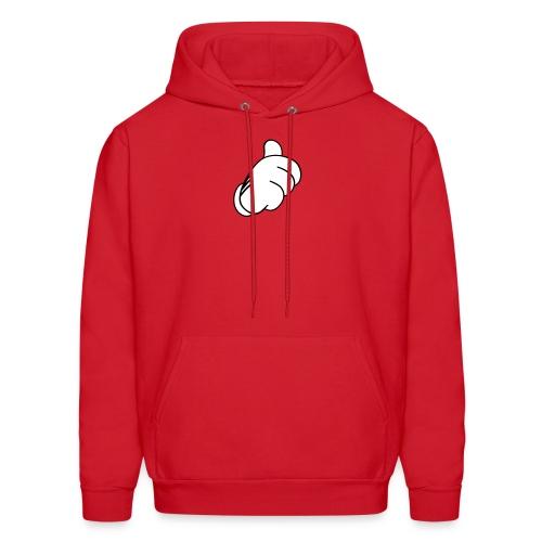 Pouce en l'air Sweatshirts - Molleton à capuche pour hommes