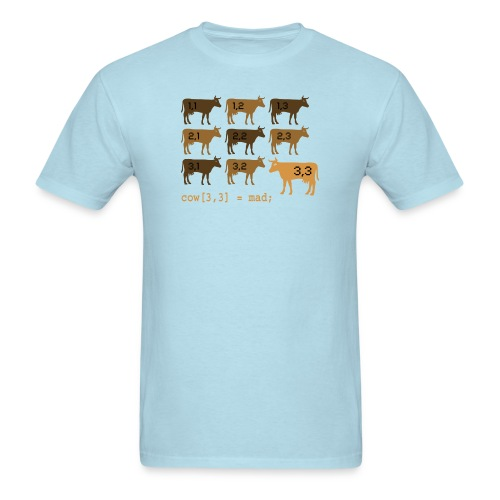 Mad cow array (standard T) - Men's T-Shirt
