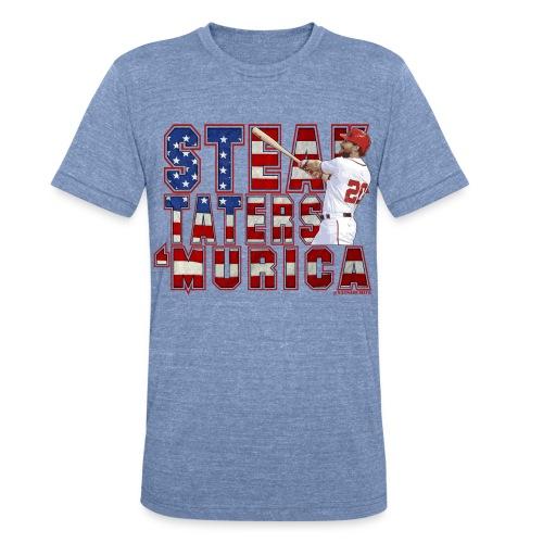 STMurica Murph - Unisex Tri-Blend T-Shirt