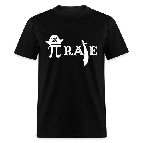 Funny Pi Rate - Men's T-Shirt