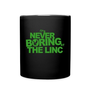 It's Never Boring at the Linc - Full Color Mug