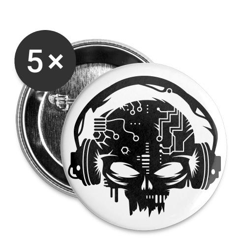 Ciber-Punk Skull - Pin - Small Buttons