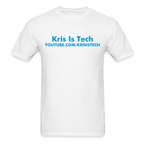 Kris Is Tech  - Men's T-Shirt