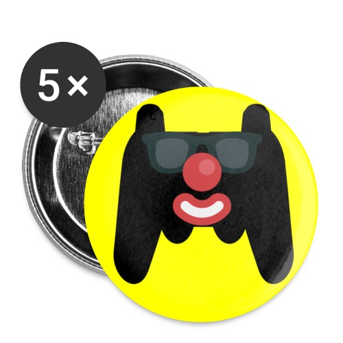 Pattyricktv Mouse Pad - Buttons small 1'' (5-pack)