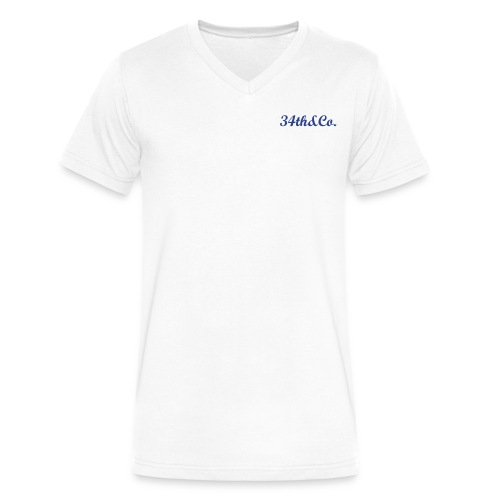 34th&Co. - Men's V-Neck T-Shirt by Canvas