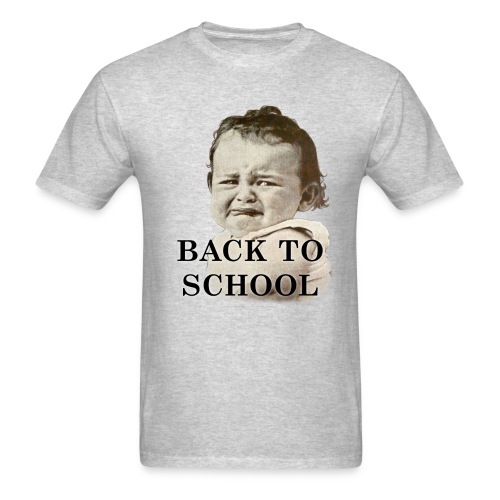 Back To School Baby - Men's T-Shirt