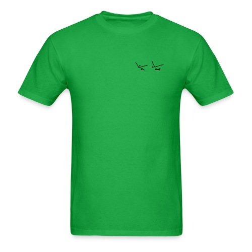 In Out Tennis, Mens T - Men's T-Shirt