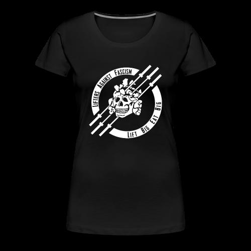 Lifters Against Fascism - Women's Premium T-Shirt