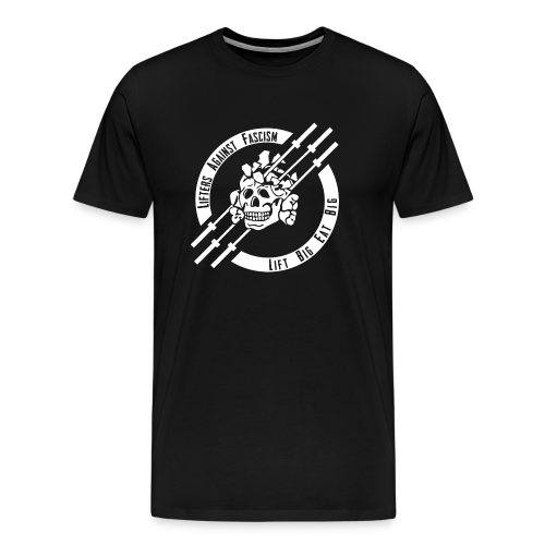 Lifters Against Fascism - Men's Premium T-Shirt