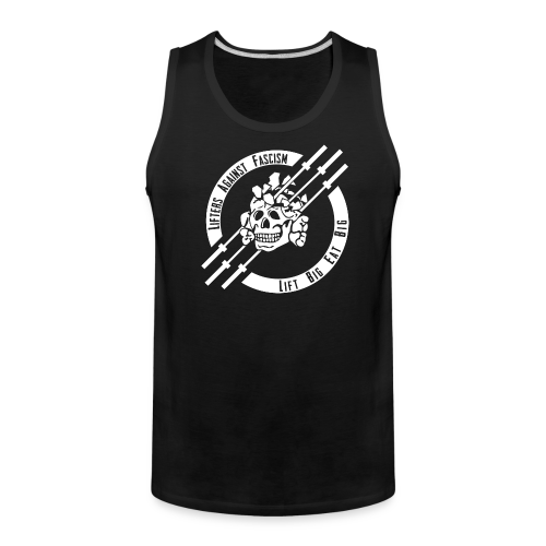 Lifters Against Fascism tank - Men's Premium Tank