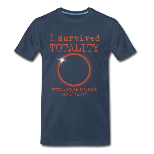 i survived  - Men's Premium T-Shirt