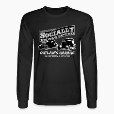 Outlaw's Garage. Socially unaccepted Hot Rods. Two Hot-Rods. For dark apparel.