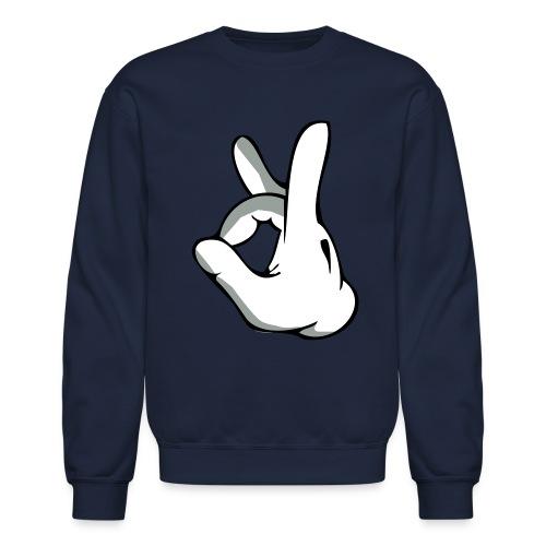 dope finger sign - Crewneck Sweatshirt
