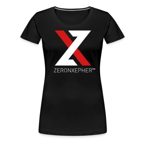 NEW ZeronXepher Official T-Shirt [Red Ver] - Women's Premium T-Shirt