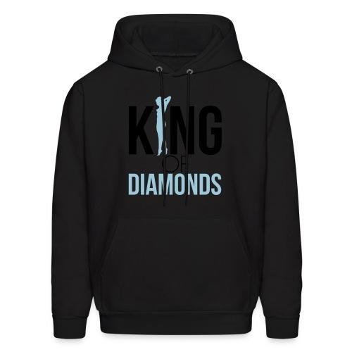 king of diamonds t-shirt - Men's Hoodie