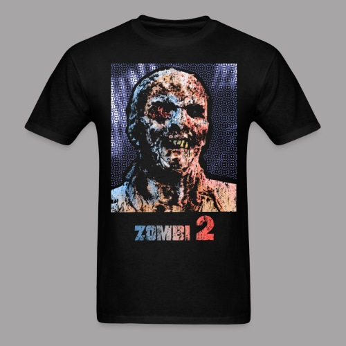 The Zombie Men's Horror T Shirt - Men's T-Shirt