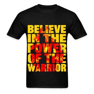 Ultimate Warrior Believe In The Power Shirt - Men's T-Shirt
