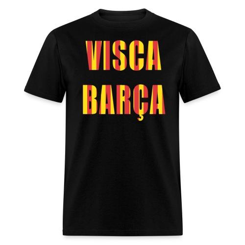 Visca Barca FC Barcelona shirt - Men's T-Shirt