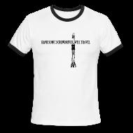 T-Shirts ~ Men's Ringer T-Shirt ~ Have Sonic Screwdriver, Will Travel (11 Version) | Robot Plunger