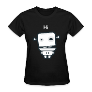 T-Shirts ~ Women's T-Shirt ~ Fitocracy - FRED Hi - Women's Black Regular Tee