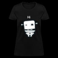 Women's T-Shirts ~ Women's T-Shirt ~ Fitocracy - FRED Hi - Women's Black Regular Tee